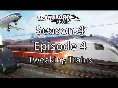 Transport Fever S04E04 - Tweaking Trains