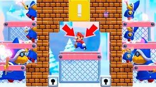 LA TRAMPA DE LOS 100 MAGOS | Super Mario Maker 2