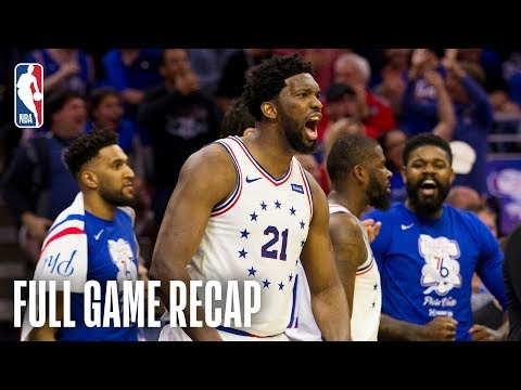 RAPTORS vs 76ERS | Joel Embiid and Philadelphia Protect Home Court | Game 3