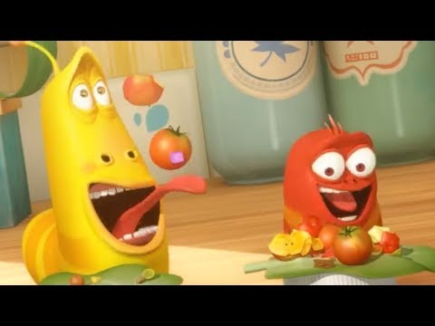 LARVA - DONT WASTE FOOD | Larva 2017 | Cartoons For Children