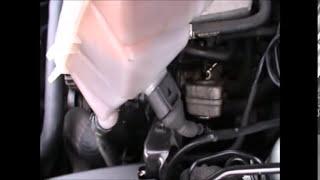 VW Passat 1.8T 2002 PCV positive crankcase ventilation valve location and replacement
