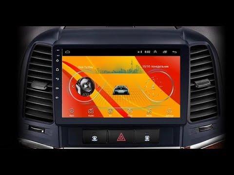 Штатная магнитола Hyundai SantaFe (2006-2012) Android TA065