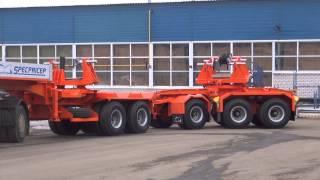 Балковозы - полуприцепы для перевозки мостовых ЖБИ балок до 80 тонн.