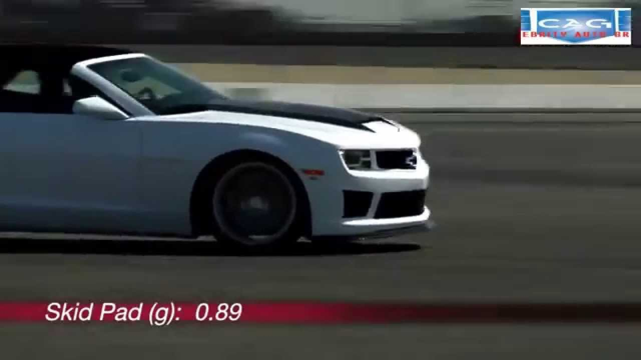High Quality 2011 Chevrolet Camaro SLP ZL1 Convertible
