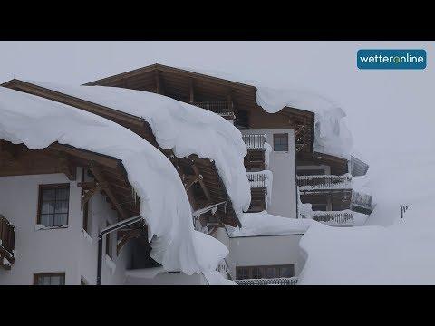 Obertauern: Schnee, Schnee und nochmals Schnee