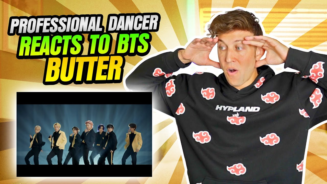 """PROFESSIONAL DANCER REACTS TO BTS - """"BUTTER"""""""