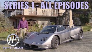 Series 1 - ALL EPISODES | Fifth Gear Classic