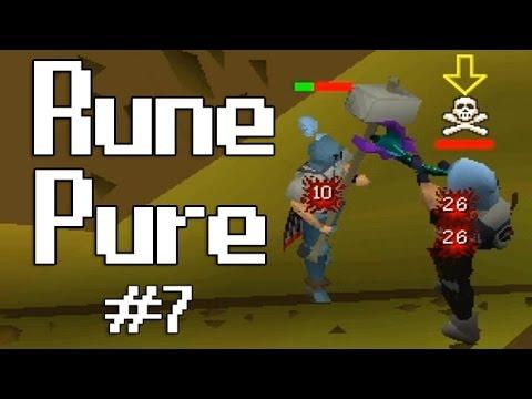 Oldschool Runescape PK Commentary - Low Level Rune Pure #7