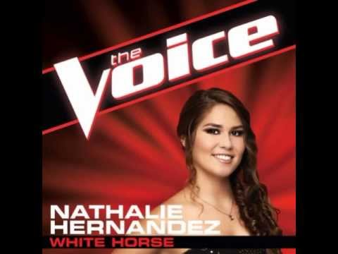 "Nathalie Hernandez: ""White Horse"" - The Voice (Studio Version)"