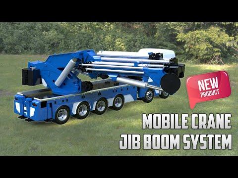 Explaining New Hydraulic Mobile Crane Jib Boom System