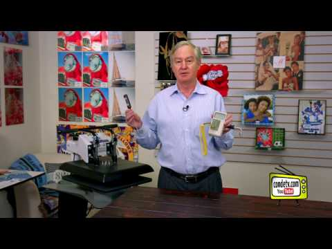 Calibrating a George Knight Digital Heat Press with a Pyrometer -