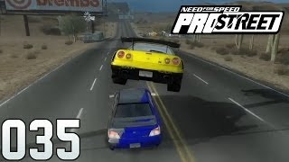 NEED FOR SPEED PROSTREET Part 35 - I believe I can fly!! (FullHD) / Lets Play NFS ProStreet