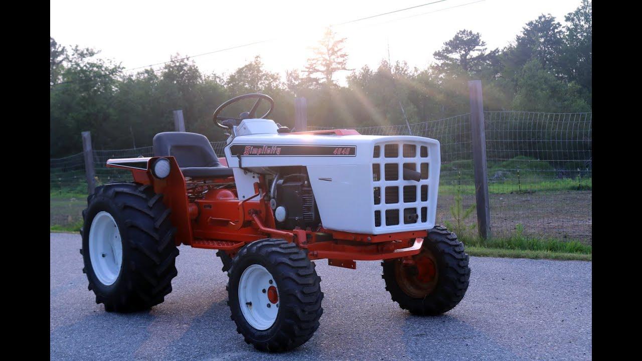 Simplicity 4040 Garden Tractor Project