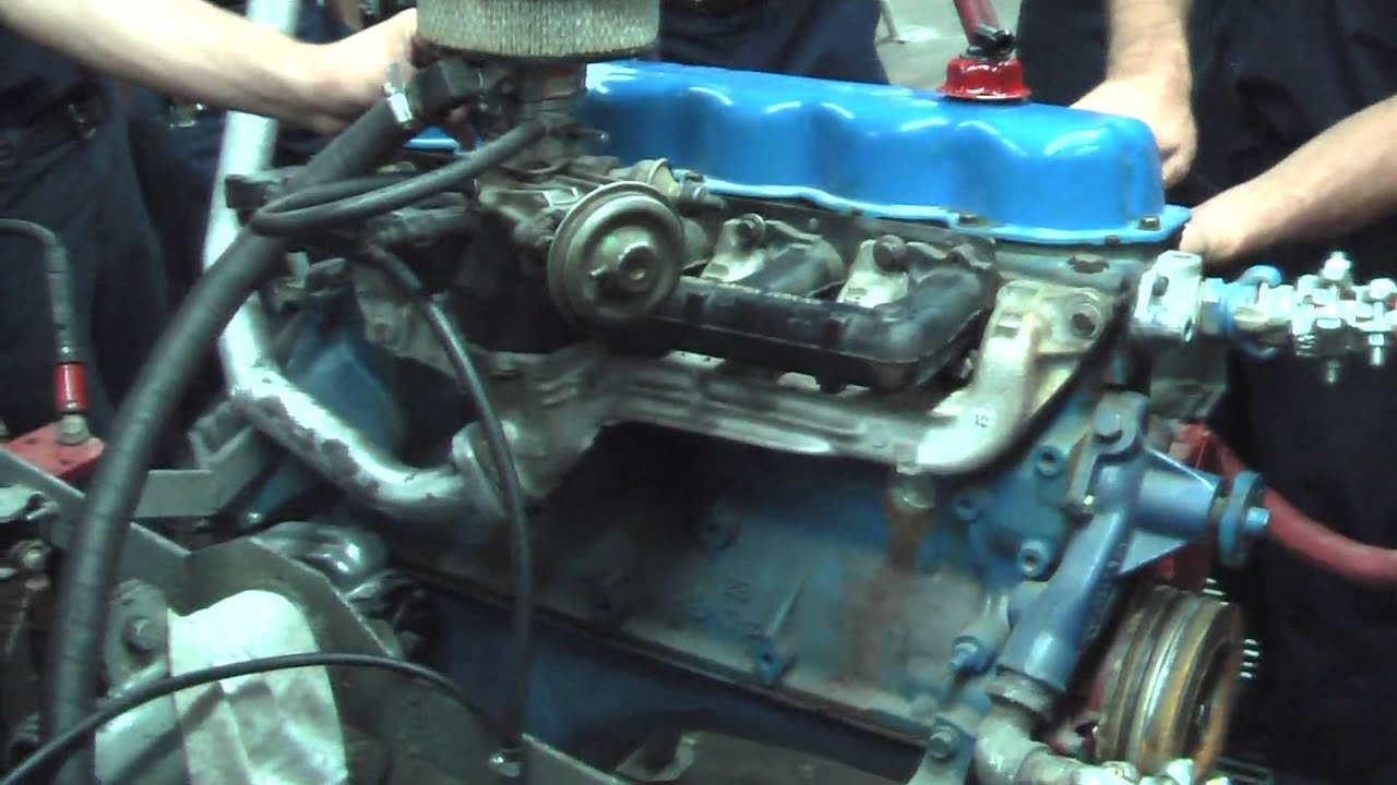 Running Engine With No Oil Youtube