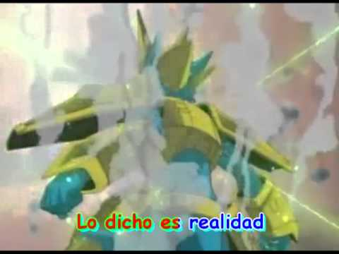 Digimon 2 - Opening Latino - Karaoke - Full