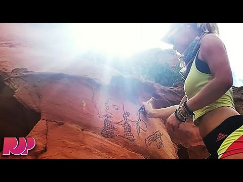 Artist Banned From 20% Of The United States After Vandalizing National Parks