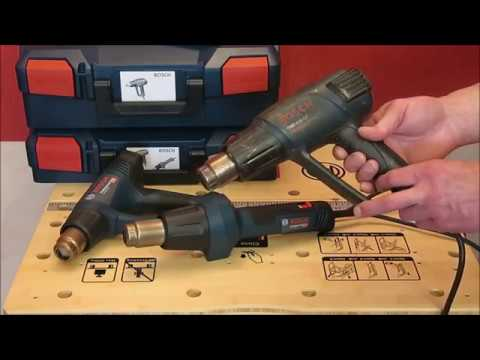 Видео обзор: Фен технический BOSCH GHG 20-63