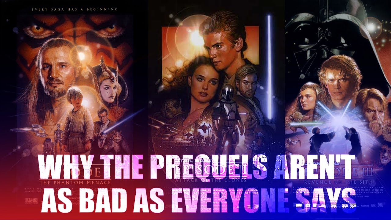 why the star wars prequels aren t as bad as everyone says video  why the star wars prequels aren t as bad as everyone says video essay