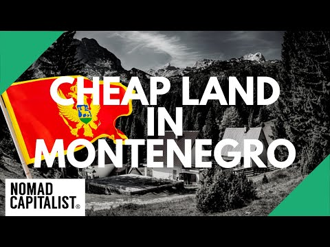 Tour of Cheap Land for Sale in Montenegro
