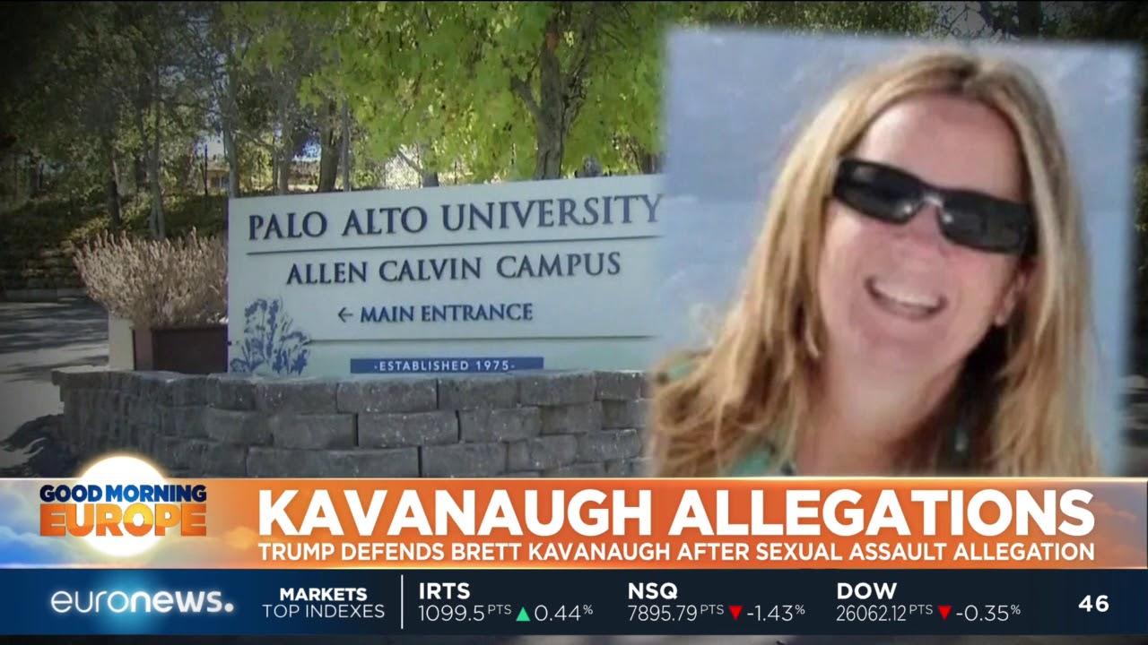 Trump defends Kavanaugh after sexual assault allegation