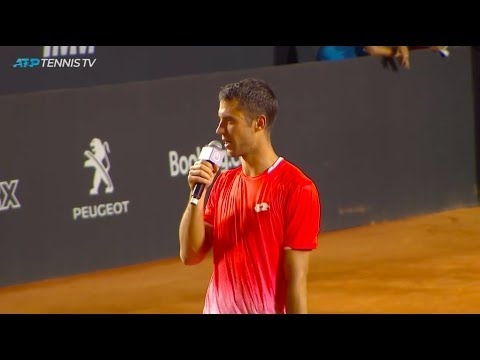 Laslo Djere shares an emotional winner's speech in honour of his parents | Rio Open 2019