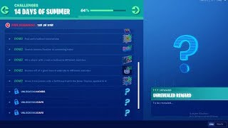 FORTNITE 14 DAYS OF SUMMER DAY 10 CHALLENGE! NEW FREE ITEMS!
