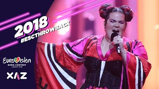 Cover images ESCTHROWBACK - Eurovision 2018: Top 43