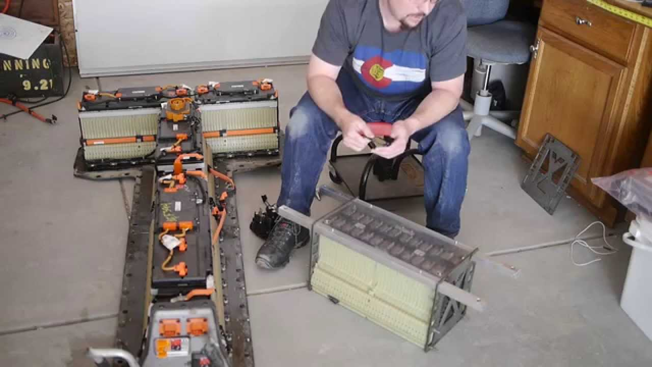 How to find buy and use the Chevy Volt battery in a DIY EV  YouTube