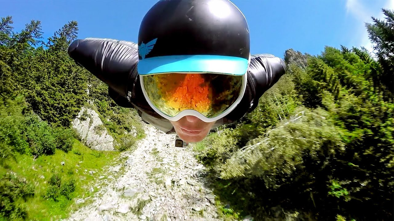 GoPro: 2500m Chamonix Wingsuit Flight