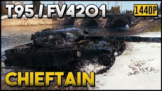 T95 / FV4201 Chieftain - 12.5k Damage - 7 Kills - World of Tanks