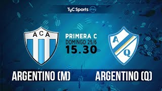 Argentino de Merlo vs Argentino de Quilmes full match