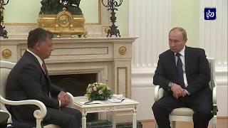 جلالة الملك يهنئ الرئيس الروسي بإعادة انتخابه - (20-3-2018)