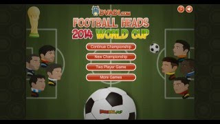 JUGANDO FOOTBALL HEADS: 2014 WORLD CUP│Luis DZ