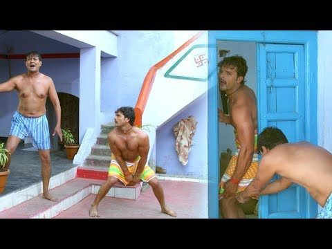 खेसारी लाल Comedy Scene - Bhojpuri Comedy Scene - Dilwala Movie Uncut Scene