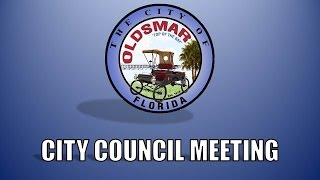 City Of Oldsmar Council Meeting, 2/3/2015