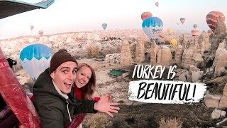 You HAVE to Do This in TURKEY! 🇹🇷 Hot Air Balloon Ride Over Cappadocia 😍+ ATV Sunset Ride