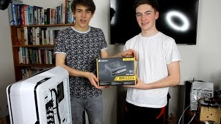 Corsair RM650x Power Supply Unboxing, Review and Build