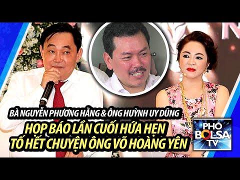 LIVE: Bà Nguyễn Phương Hằng họp báo lần cuối, hứa hẹn tố cáo hết chuyện ông Võ Hoàng Yên