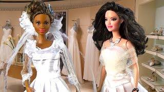 БАРБИ две невесты - Мультфильм кукла Барби Видео для девочек