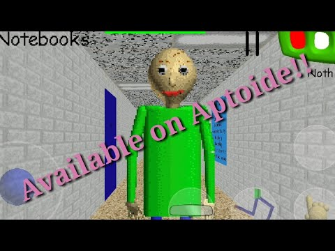 Baldi's Basics Is Available For Aptoid Now! (Another April Fools)
