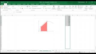 Mathe mit Excel - Integral Trapezmethode - Tutorial