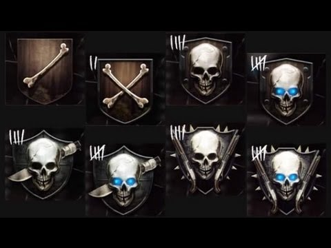 Black Ops 2 Zombies l How The Ranking System Really Works! With Emblems(Continued)