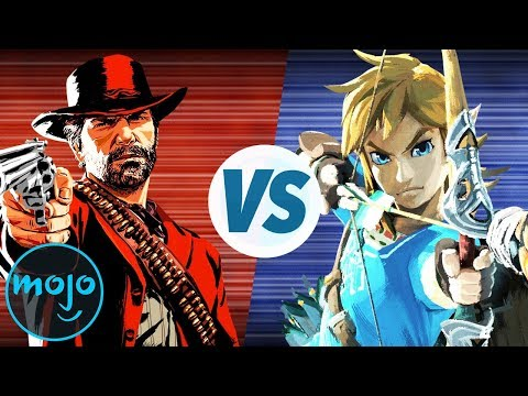 Red Dead Redemption 2 vs Breath of The Wild