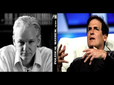 JULIAN ASSANGE JUST LEAKED PICTURES THAT JUST DESTROYED MARK CUBAN'S DREAMS OF A PRESIDENTIAL RUN FO