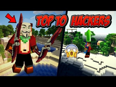 Top 10 Hackers en Cubecraft | Minecraft Skywars 1.8.9