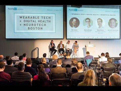 Bill Geary, Steve Kraus, Nancy Brown, Michael Weintraub on funding innovation - ApplySci @ MIT