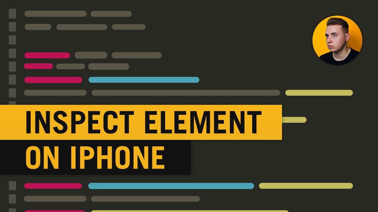 Inspect Element On iPhone (How to Inspect Element On iOS)