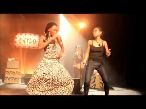 """FATOUMATA DIAWARA / Live au Festival """"Art Coba #1"""" - Tours 2012"""