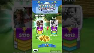 Golf clash tour 7 with shot discussion part 1