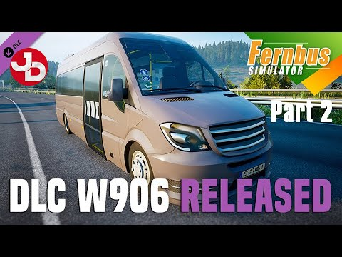 Driving the MB W906 on FERNBUS PART 2 of 2 Update 1.25 (with English commentary)